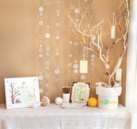 winter baby shower5
