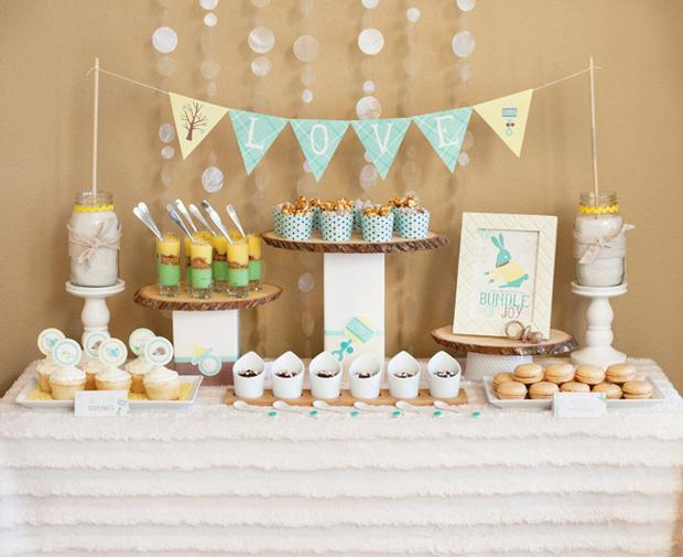 winter baby shower7