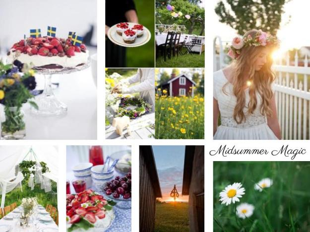 inspiration board midsummer